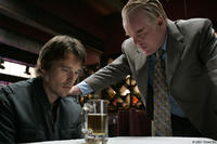Ethan Hawke and Philip Seymour Hoffman in
