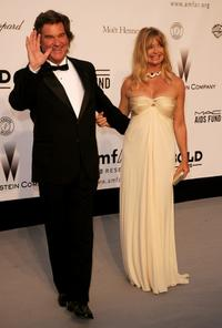 Goldie Hawn and Kurt Russell at the Cinema Against AIDS 2007 in aid of amfAR at Le Moulin de Mougins during the 60th International Cannes Film Festival.