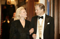Lauren Bacall and Woody Harrelson in