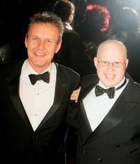 Anthony Head and Matt Lucas at the British Comedy Awards 2004.