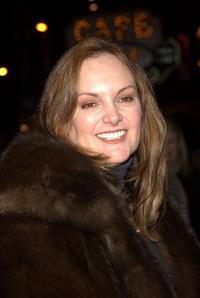 Patricia Hearst at the opening night of