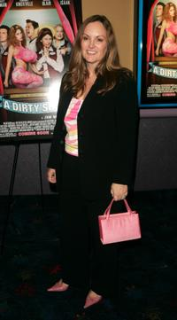 Patricia Hearst at the premiere of