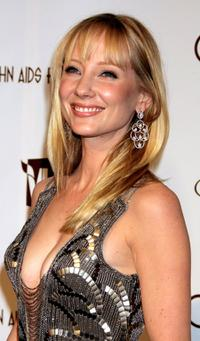 Anne Heche at the 14th Annual Elton John Academy Awards viewing party.