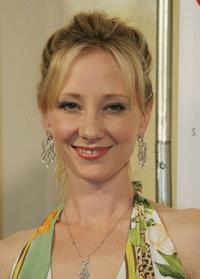 Anne Heche at the Intuition party for the launch of the Target Couture line.
