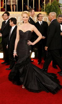 Katherine Heigl at the 64th annual Golden Globe Awards in Beverly Hills.