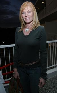 Marg Helgenberger at the 2007 World Talent Style lounge.