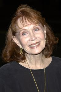 Katherine Helmond at a reception by the Academy of Television Arts and Sciences for Emmy Award nominees.