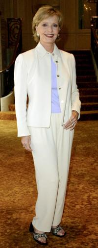 Florence Henderson at the 33rd Annual Celebrity Fashion Show and Auction.