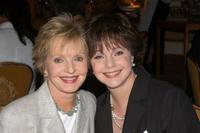 Florence Henderson and Dianne Dunkelman at the Lifetime Television