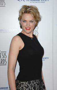 Elaine Hendrix at the 22nd annual Genesis Awards.