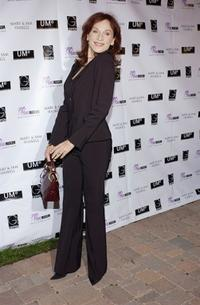 Marilu Henner at a celebration for B.B. King's 80th birthday at the home of Sam and Mary Haskell.