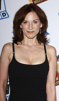 Marilu Henner at the Museum of Television and Radio Cocktail Party.