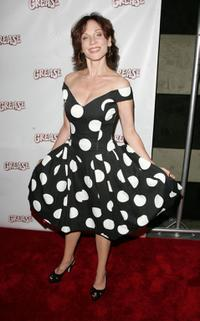 Marilu Henner at the after party for the opening night of the Broadway musical