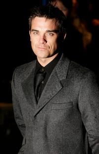Robbie Williams at the UK Gala premiere of