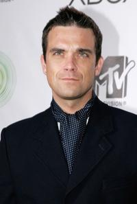 Robbie Williams at the Xboxs next generation console launch party.