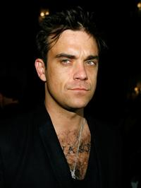 Robbie Williams at the 2 B Free Fall Collection fashion show.
