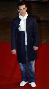 Robbie Williams at the 4th NRJ Music Awards 2003.