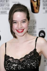 Anna Popplewell at the 11th British Academy Children's Film & Television Awards.