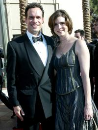 Diedrich Bader and his wife Dulcy at the 2002 Creative Arts Emmy Awards.