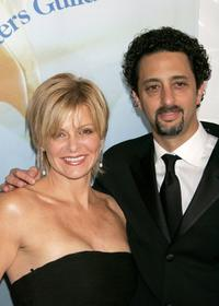 Grant Heslov and guest at the 2006 Writers Guild Awards.