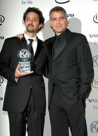 Grant Heslov and George Clooney at the 2006 Producers Guild Awards.