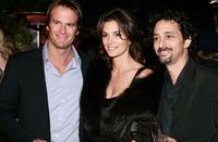 Cindy Crawford, Randy Gerber and Grant Heslov at the after party of the premiere of