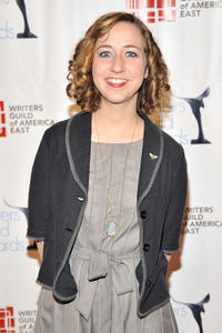 Kristen Schaal at the 63rd annual Writers Guild Awards at the AXA Equitable Center in New York.