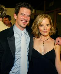 Chaney Kley and Emma Caulfield at the premiere of