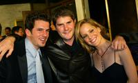 Chaney Kley, Jonathan Liebesman and Emma Caufield at the premiere of