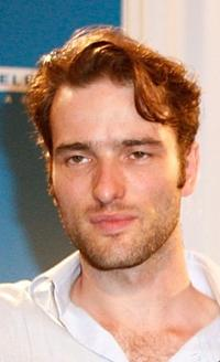 Ed Stoppard at the press conference of