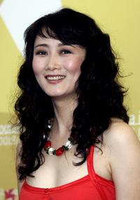 Zhao Tao at the photocall to promote