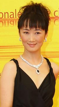 Zhao Tao at the photocall of