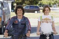 Andy Samberg and Isla Fisher in