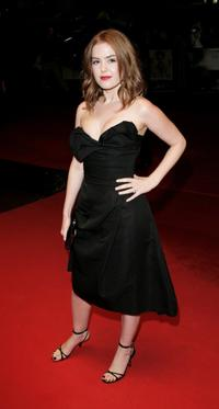 Isla Fisher at the Times BFI 50th London Film Festival screening of