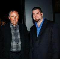 Dick Cook and Dean DeBlois at the after party of the premiere of