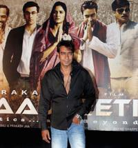 Ajay Devgan at the press meet of
