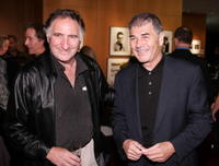 Judd Hirsch and Robert Forster attend the ceremony to celebrate the gift of The Gregory Peck Collection at the Academy Of Motion Picture Arts and Sciences.