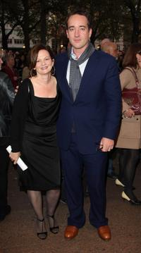 Director Sharon Maguire and Matthew MacFadyen at the BFI 52'nd London Film Festival European premiere of