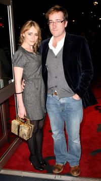 Keeley Hawes and her husband Matthew MacFadyen at the world premiere of
