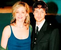 James McAvoy and Anne-Marie Duff at the Royal Film Performance and world premiere of