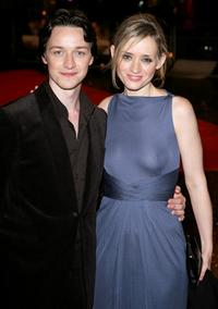 James McAvoy and Anne-Marie Duff at the world premiere of