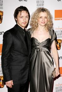 James McAvoy and Anne-Marie Duff at the Orange British Academy Film Awards.