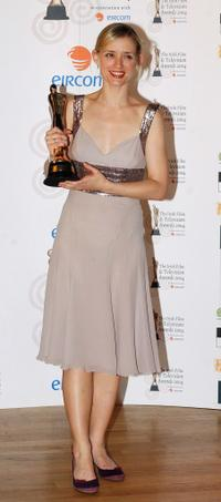 Anne-Marie Duff at the Irish Film and Television Awards.
