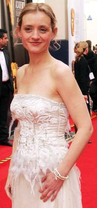 Anne-Marie Duff at the Pioneer British Academy Television Awards.