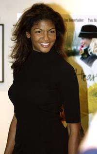 Marjean Holden at the screening of