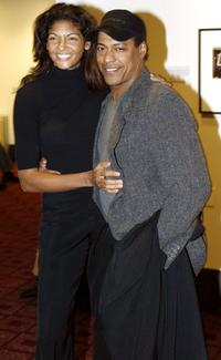 Marjean Holden and Guest at the screening of