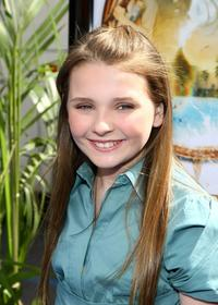 Abigail Breslin at the premiere of