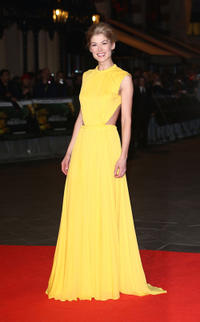 Rosamund Pike at the world premiere of