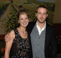 Rosamund Pike and Ryan Gosling at the after party following the LA premiere of