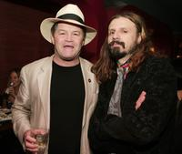 Mickey Dolenz and Rob Zombie at the after party of the premiere of